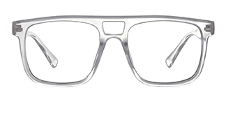 3510 Antoinette Aviator clear glasses