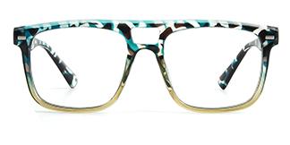 3510 Antoinette Aviator tortoiseshell glasses