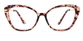 3547 Billi Cateye tortoiseshell glasses