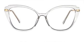 35471 Billye Cateye clear glasses
