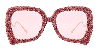 3640 Bubbles Butterfly pink glasses