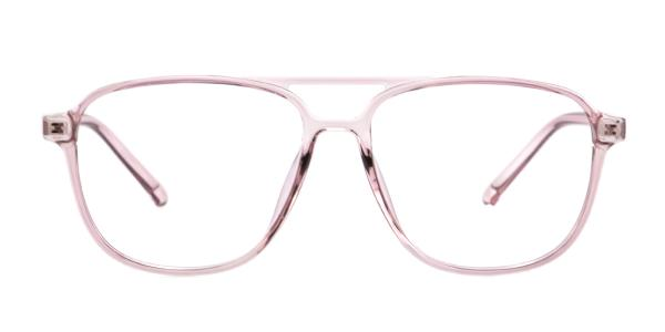407 Candace Aviator pink glasses