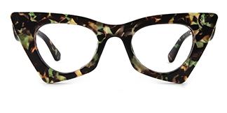 42015 Antonina Cateye floral glasses