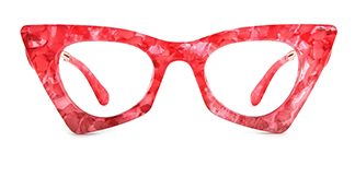 42015 Antonina Cateye pink glasses