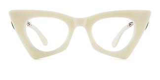 42015 Antonina Cateye yellow glasses