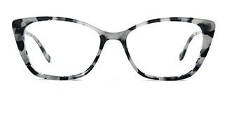 4241 Blythe Cateye tortoiseshell glasses