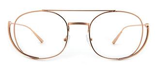 42471 Girdie Aviator silver glasses