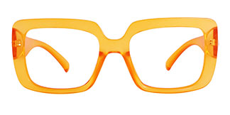 4384 Niki Rectangle yellow glasses