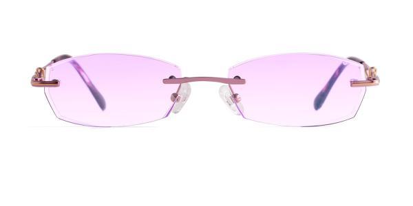4668 Fairie Geometric purple glasses