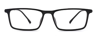 50131 Cala Rectangle black glasses