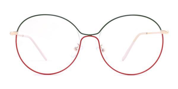 5017 Theresa Round multicolor glasses