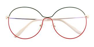 5017 Theresa Round multicolor glasses