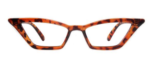 5043 Stanley Cateye tortoiseshell glasses