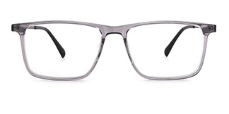 5049 Caesar Rectangle grey glasses