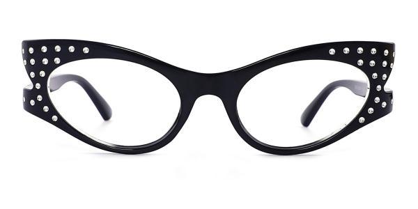 50691 Blanche Cateye black glasses