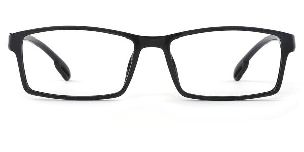 5071 Marvin Rectangle black glasses