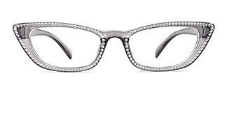 5100 Elroy Cateye grey glasses