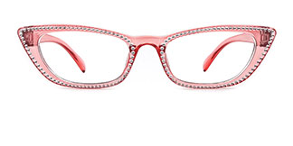 5100 Elroy Cateye pink glasses