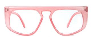 5111 Eleonore Aviator pink glasses