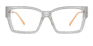 51261 Bethann Rectangle clear glasses