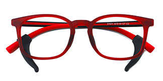 51571 Moira Rectangle red glasses