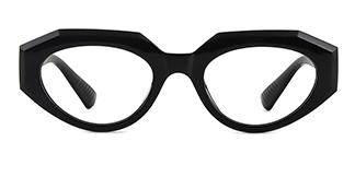 5182 Annabella Geometric black glasses