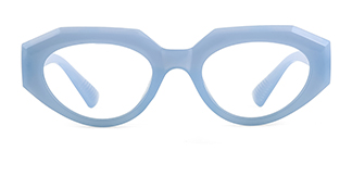 5182 Annabella Geometric blue glasses