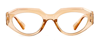 5182 Annabella Geometric brown glasses