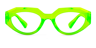 5182 Annabella Geometric green glasses
