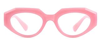 5182 Annabella Geometric pink glasses