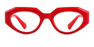 51821 Annabelle Cateye red glasses