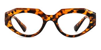 51821 Annabelle Geometric tortoiseshell glasses