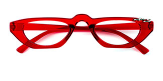 5194 Isla Oval red glasses
