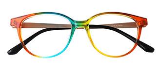 5311 Megan Oval multicolor glasses