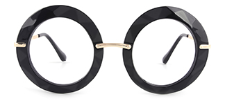 5710 Eunnice Round black glasses