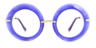 5710 Eunnice Round blue glasses