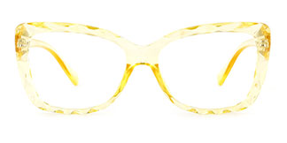58021 Adina Cateye yellow glasses