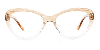5804 Adrian Cateye brown glasses