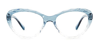 5804 Adrian Cateye blue glasses