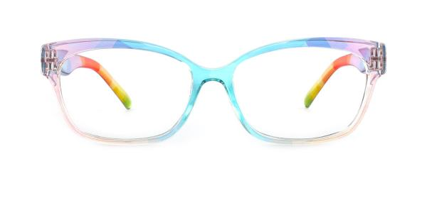 5831 Evalyn Rectangle multicolor glasses