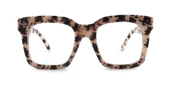 5876 Odessa Rectangle tortoiseshell glasses