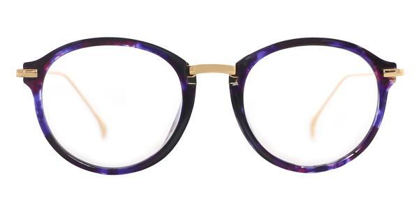 60051 Cristina Oval blue glasses