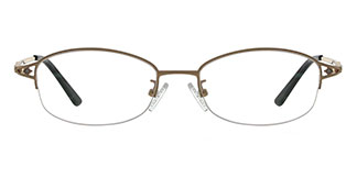 6020 Kiran Oval gold glasses