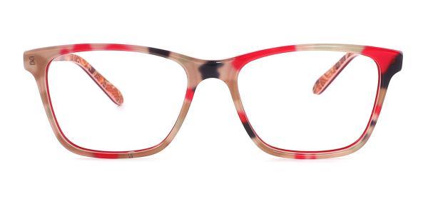 6026 Evie Rectangle tortoiseshell glasses