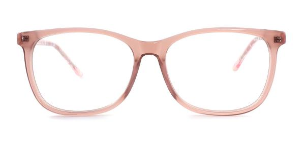6033 Sinjin Rectangle brown glasses