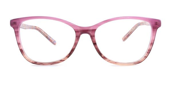 6036-1 Aiden Cateye purple glasses