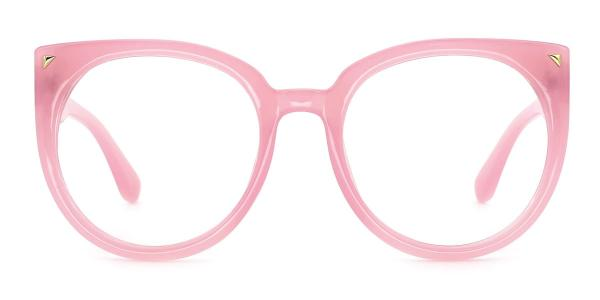 6084 Camille Cateye pink glasses
