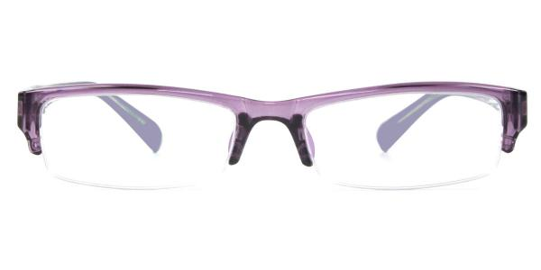 6110 Esther Rectangle red glasses