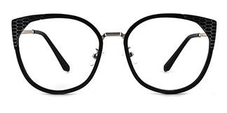 6161 Alize Cateye black glasses