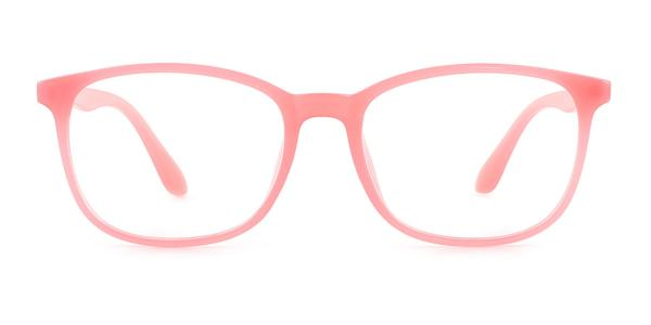 6175 Isleta Rectangle pink glasses